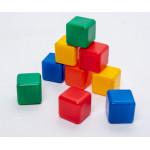 1200600 Набор цветных кубиков 9штук