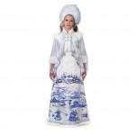 """175 Карнавальный костюм """"Лазурная Снегурочка"""" плат"""