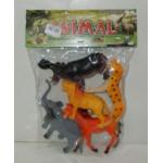 J057 Набор дикие животные